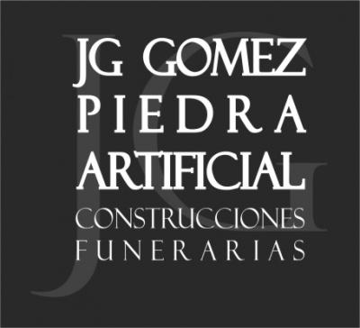 logo de Piedra Artificial JG Gomez, Fabricamos a medida para todo el Baix Llobregat